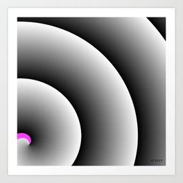Love Swirl Art Print