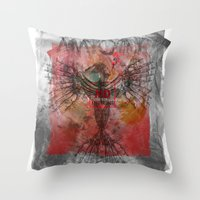 anatomy Throw Pillows featuring anatomy by kumpast