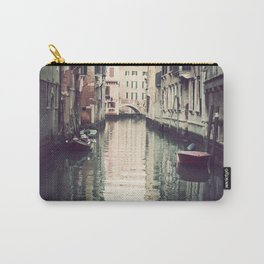 Boats in Venice Carry-All Pouch