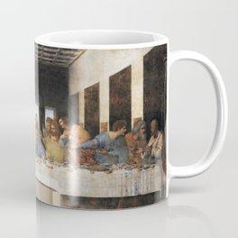 The last supper- painting by Leonardo da Vinci Coffee Mug