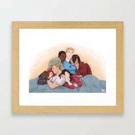 Civil Naptime Framed Art Print