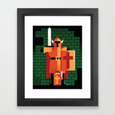 Dungeons & Darknuts Framed Art Print