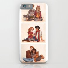 The Golden and the Silver Trio iPhone 6s Slim Case