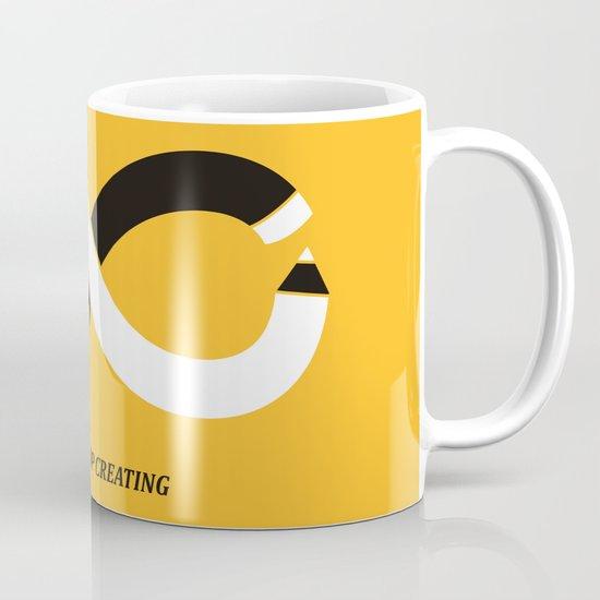 Never stop creating (the infinity pencil) Mug