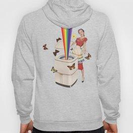 Rainbow Washing Machine Hoody