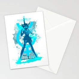 Mercury kanji Stationery Cards