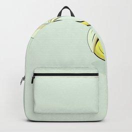 Banana cartoon. Backpack