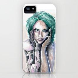 Mechanically Beautiful Watercolor iPhone Case