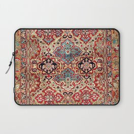 Esfahan Central Persian Rug Print Laptop Sleeve