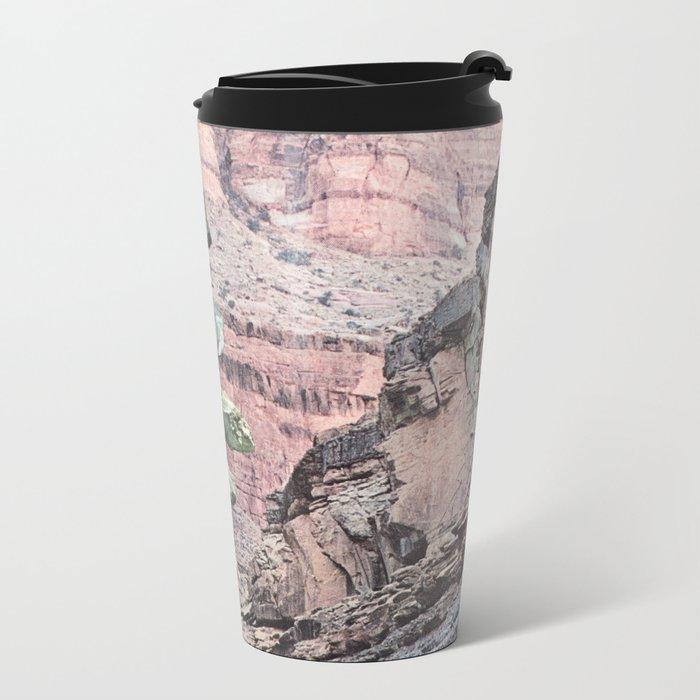 Sharpen Metal Travel Mug