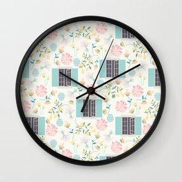Italian garden Wall Clock