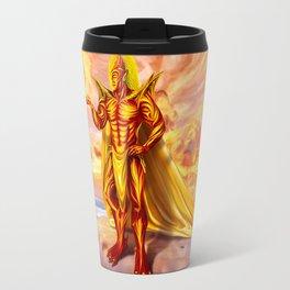 Dwain God of fire Travel Mug