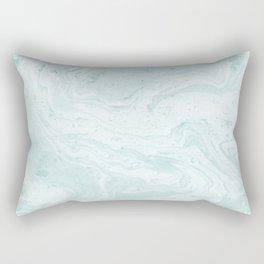 Seaforam Marble Print Rectangular Pillow
