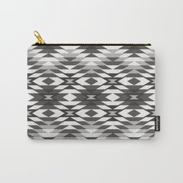 New Mexico in Black and White Carry-All Pouch