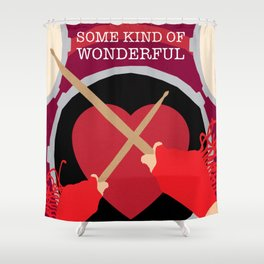 80s TEEN MOVIES :: SOME KIND OF WONDERFUL Shower Curtain