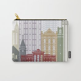Raleigh V2 skyline poster Carry-All Pouch