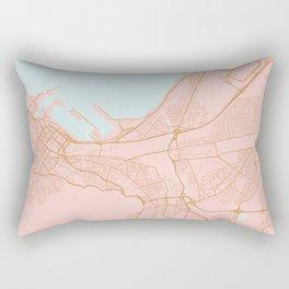 Cape Town map Rectangular Pillow