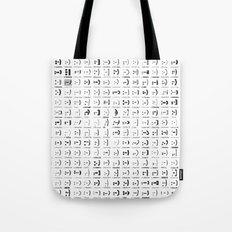 300 smileys| 300 fonts Tote Bag