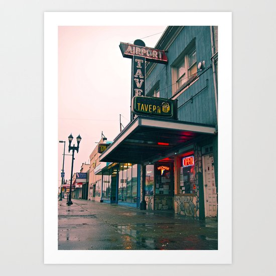 Airport Tavern Art Print
