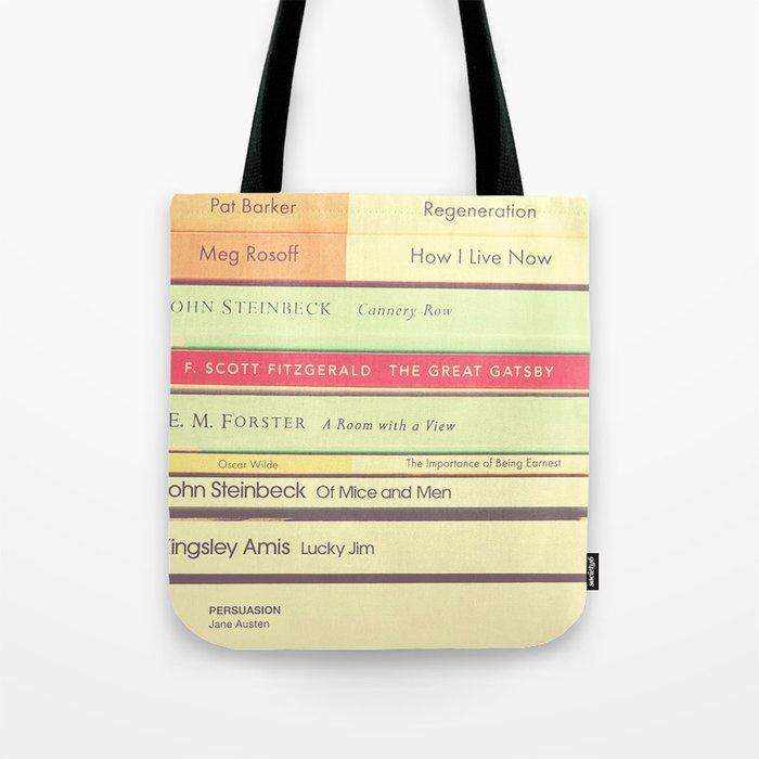 Reading the Classics Tote Bag