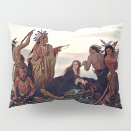 The Abduction of Boone's Daughter by the Indians Pillow Sham