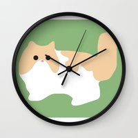 persian Wall Clocks featuring Persian by Fandango089