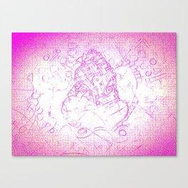 Pink siege Canvas Print