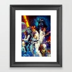 StarWars Framed Art Print