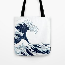 The Great Wave - Halftone Tote Bag