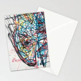 Eye 2 colour Stationery Cards