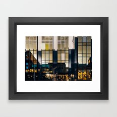 Surface Tension: Glasgow Centre Framed Art Print