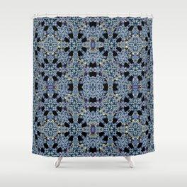 Oriental Ornate Pattern Shower Curtain