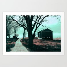 :: Road to Somewhere :: Art Print