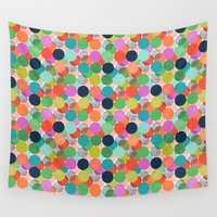 chelsea Wall Tapestries featuring Chelsea Dot by Elephant & Rose