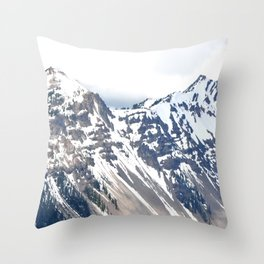 CRATER LAKE Throw Pillow