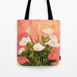 Monterey Calla Lilies Tote Bag