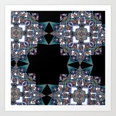 Internal Kaleidoscopic Daze-15 Art Print