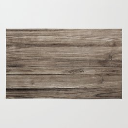 Rustic Brown Wooden Texture Background Rug