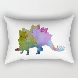 Stegosaurus Rectangular Pillow