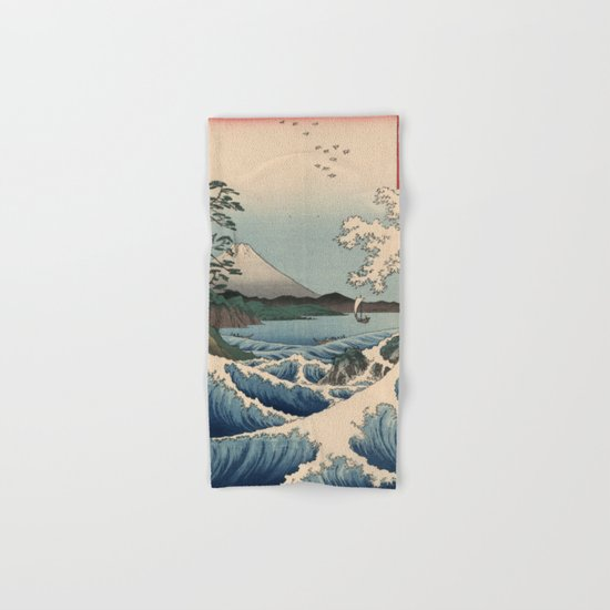 The Sea of Satta Hand & Bath Towel