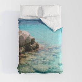 Caribbean Ocean Dream #1 #wall #decor #art #society6 Comforters