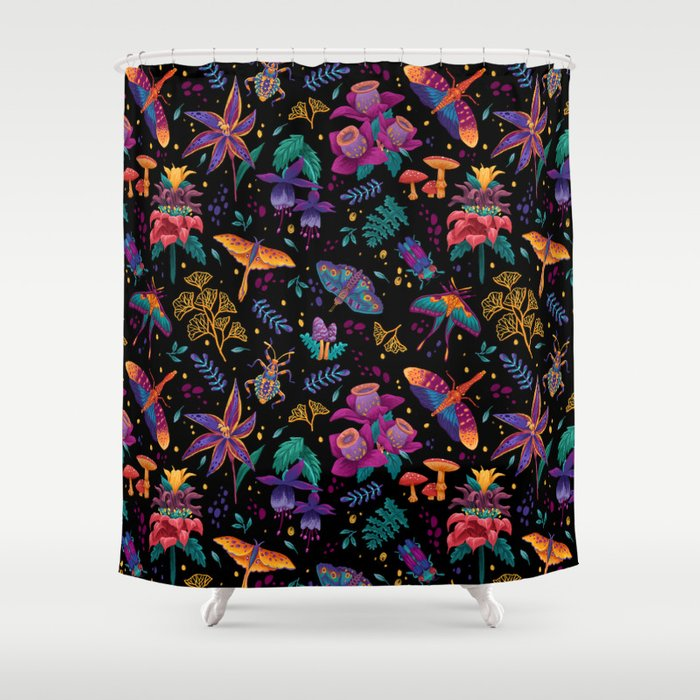 Creatures of the Night Shower Curtain