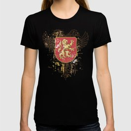 Coat of Arms Shield - Griffin Seal - Crown Lion and the Mark T-shirt