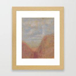 Informal sescape Framed Art Print