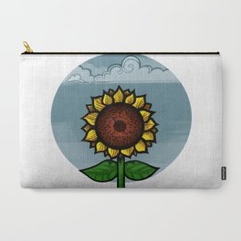 kitschy sunflower Carry-All Pouch