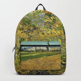 Vincent Van Gogh - Wheatfield Backpack