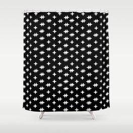 Hatch Cross Shower Curtain