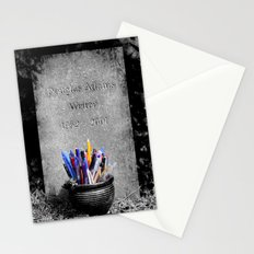The Grave of Douglas Adams Stationery Cards