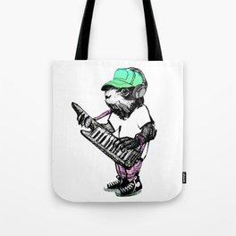 Hamster Superstar Tote Bag
