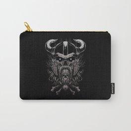 Viking Skull | Warrior Odin Illustration Carry-All Pouch